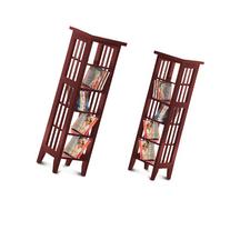 Two Cherry Finish Book Shelf / Case DVD / Cd Racks