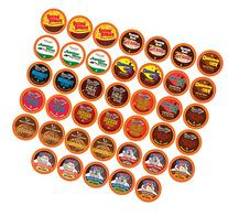 Two Rivers Hot Cocoa Sampler Pack, Single-Cup for Keurig K-