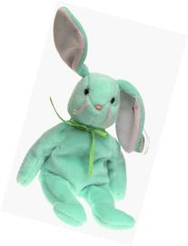 Ty Beanie Babies Hippity - Bunny Green