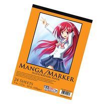 "U.S. Art Supply 9"" x 12"" Premium Manga-Marker Paper Pad, 60"