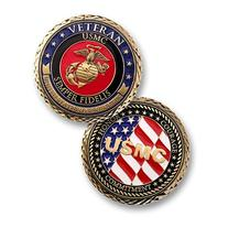 U.S. Marines Veteran Challenge Coin