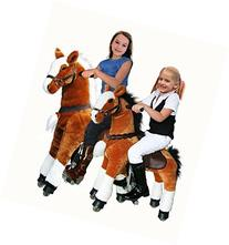 UFREE Large Mechanical Rocking Horse Toy, Ride on Bounce up