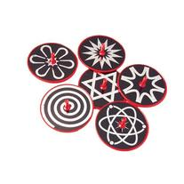 US Toy Hypnotic Lazer Tops Assorted Patterns Toy