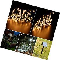 Ucharge S100-2 Solar Lights Outdoor Christmas Led Lights