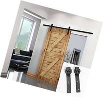 Umax 6.6 Ft Sliding Barn Wood Door Basic Sliding Track