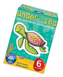 Under the Sea 2-3 Piece Puzzles, 6 Count
