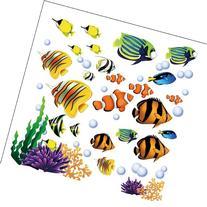 Under the Sea Decorative Peel and Stick Wall Art Sticker
