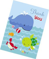 Under the Sea Thank You Cards, 8ct