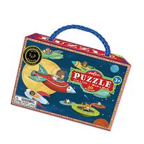 eeBoo Up and Away Space Puzzle, 20 pieces