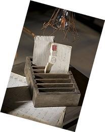 Vagabond Vintage, Rustic Recycled Pine Adjustable Slotted