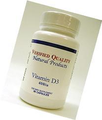 Verified Quality - Vitamin D3 400 IU 90 caps