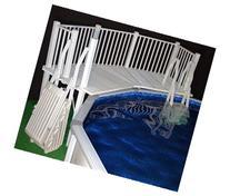 Vinyl Works Above Ground Swimming Pool Resin Deck Kit -