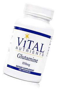 Vital Nutrients - Glutamine 850 mg - Gastrointestinal and