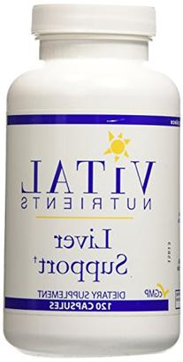 Vital Nutrients, Liver Support 120 Capsules