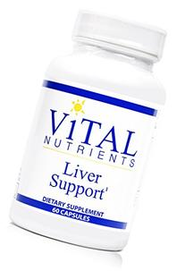 Vital Nutrients - Liver Support - Herbal Combination to