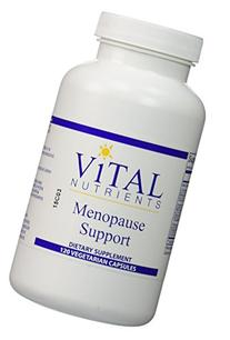 Vital Nutrients - Menopause Support - 120 Vegetarian