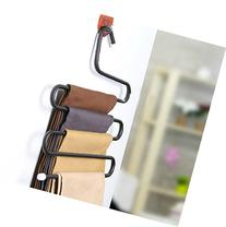 WAYCOM Multi-purpose Metal Trousers Hanger 5 Layers Pants