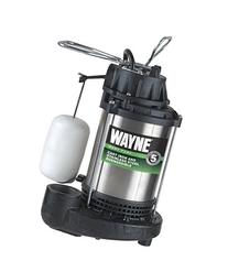 WAYNE CDU980E 3/4 HP Submersible Cast Iron and Stainless