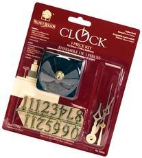Walnut Hollow 3 Piece Clock Kit 1/4-inch