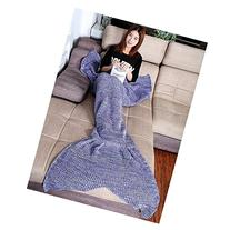 Warm and Soft All Seasons Mermaid Blanket Sofa Quilt Living