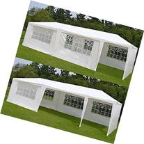 BenefitUSA Wedding Party Tent Outdoor Camping 10'x30' Easy