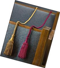"Weighted Pew Reservation Rope 58"" with Heavy Tassle Ends"