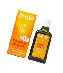 Weleda Body Oil for Baby-Calendula-6.5 Oz