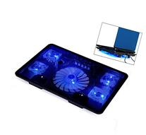 Welltop® Notebook Laptop cooling pads 5 Fans Laptop Cooler