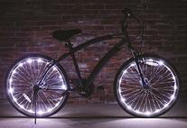 Brightz, Ltd. White Wheel Brightz LED Bicycle Light