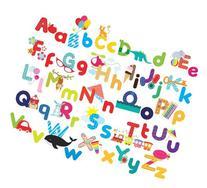 Whimsical Alphabet Decorative Peel & Stick Wall Art Sticker