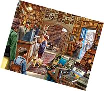 White Mountain Puzzles Old Book Store - 1000 Piece Jigsaw