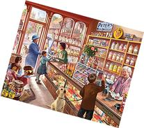 White Mountain Puzzles Old Candy Shop - 1000 Piece Jigsaw