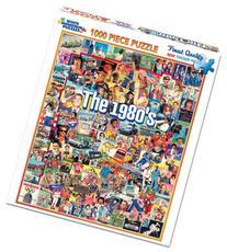 White Mountain Puzzles The Eighties - 1000 Piece Jigsaw
