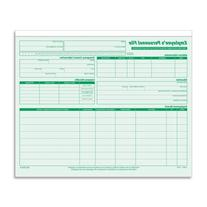 Wholesale CASE of 10 - Tops Employee Record File Folders-