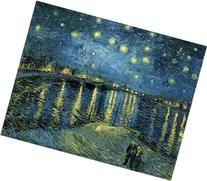 Wieco Art - Starry Night Over the Rhone by Van Gogh Famous