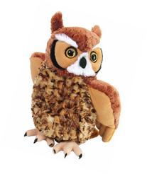 "Wild Republic Cuddlekin Great Horned Owl 12"" Plush"