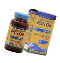 Wiley's Finest - Wild Alaskan Fish Oil 1000mg EPA + DHA Peak