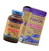 Wiley's Finest - Wild Alaskan Fish Oil: Prenatal DHA 600mg