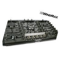 "WindMax® Brand Design 34"" Black Titanium Stainless Steel"
