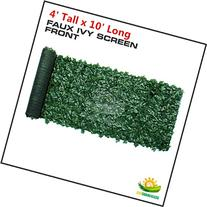 Windscreen4less Artificial Faux Ivy Leaf Decorative Fence