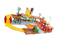 WolVol Big Train Tracks Set with Upper and Lower Level,