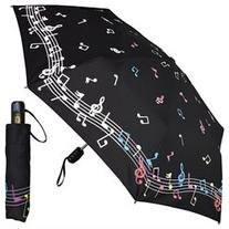 Women's Fashion Umbrella - Color Changing Musical Notes -