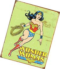 Wonder Woman Retro Metal Tin Sign , 12x16