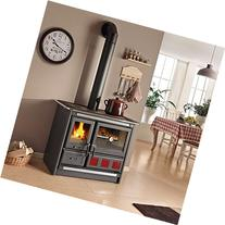 "Wood Burning Cook Stove La Nordica ""Rosa XXL"", with Baking"