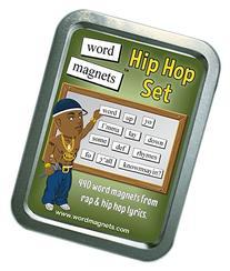 Word Magnets Hip Hop Set - Magnetic Words - Fridge Poetry