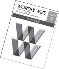 Wordly Wise 3000 : Book 4-Answer Key
