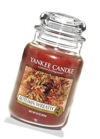 Yankee Candle Company Autumn Wreath Large Jar Candle