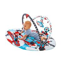Baby Gym And Play Mat - 3 Stage Accessory Gym With Motorized
