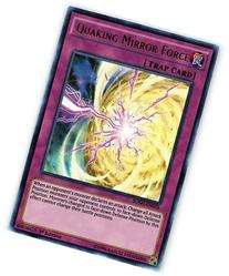 Yu-Gi-Oh! - Quaking Mirror Force  - Breakers of Shadow - 1st