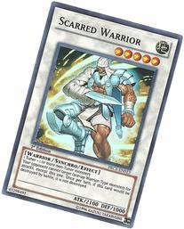 Yu-Gi-Oh! - Scarred Warrior  - 2012 Premium Tin - 1st